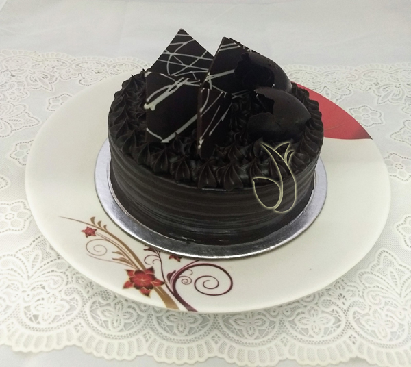 Flowers Delivery in JalandharDark Chocolate Cake