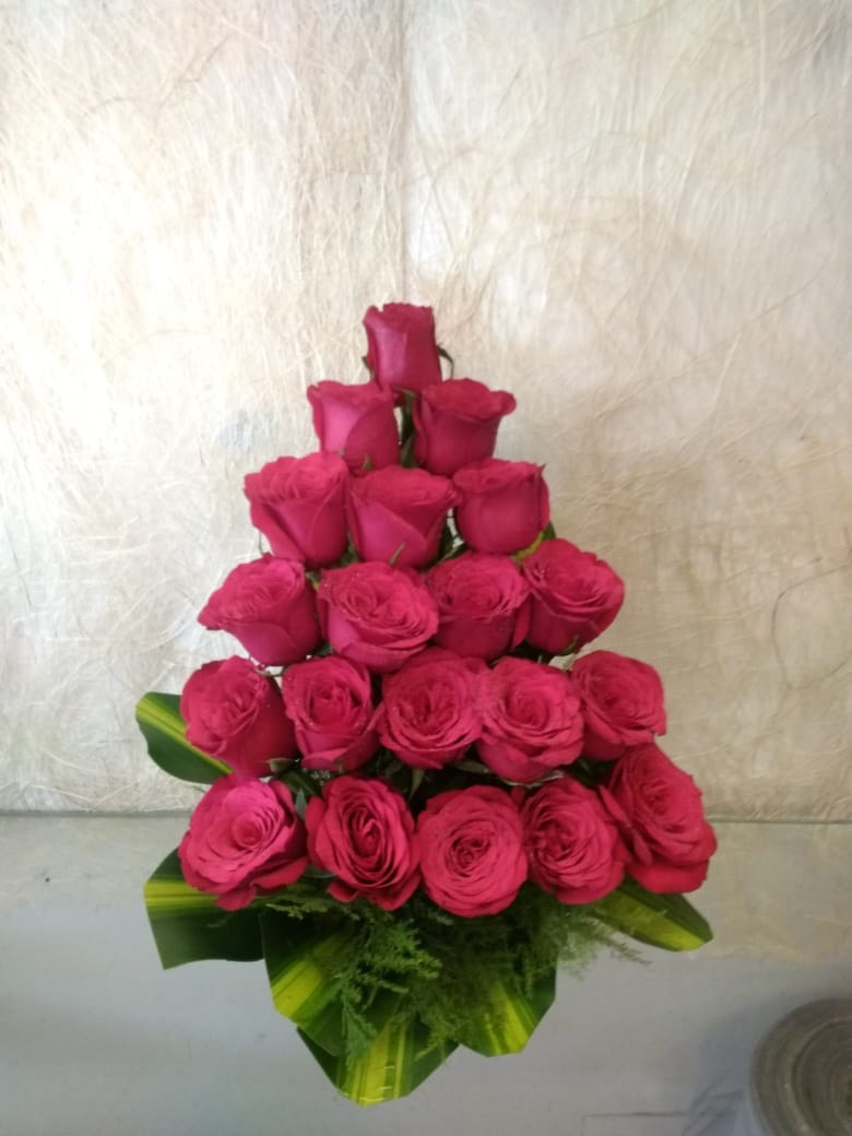 20 Red Roses Arrangement
