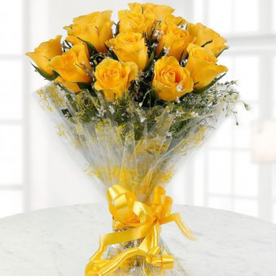 Bright and beautiful Yellow Roses
