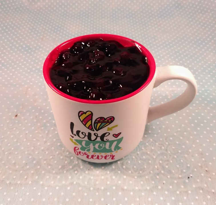 Blueberry Cake in Coffee Mug (Only For Delhi)
