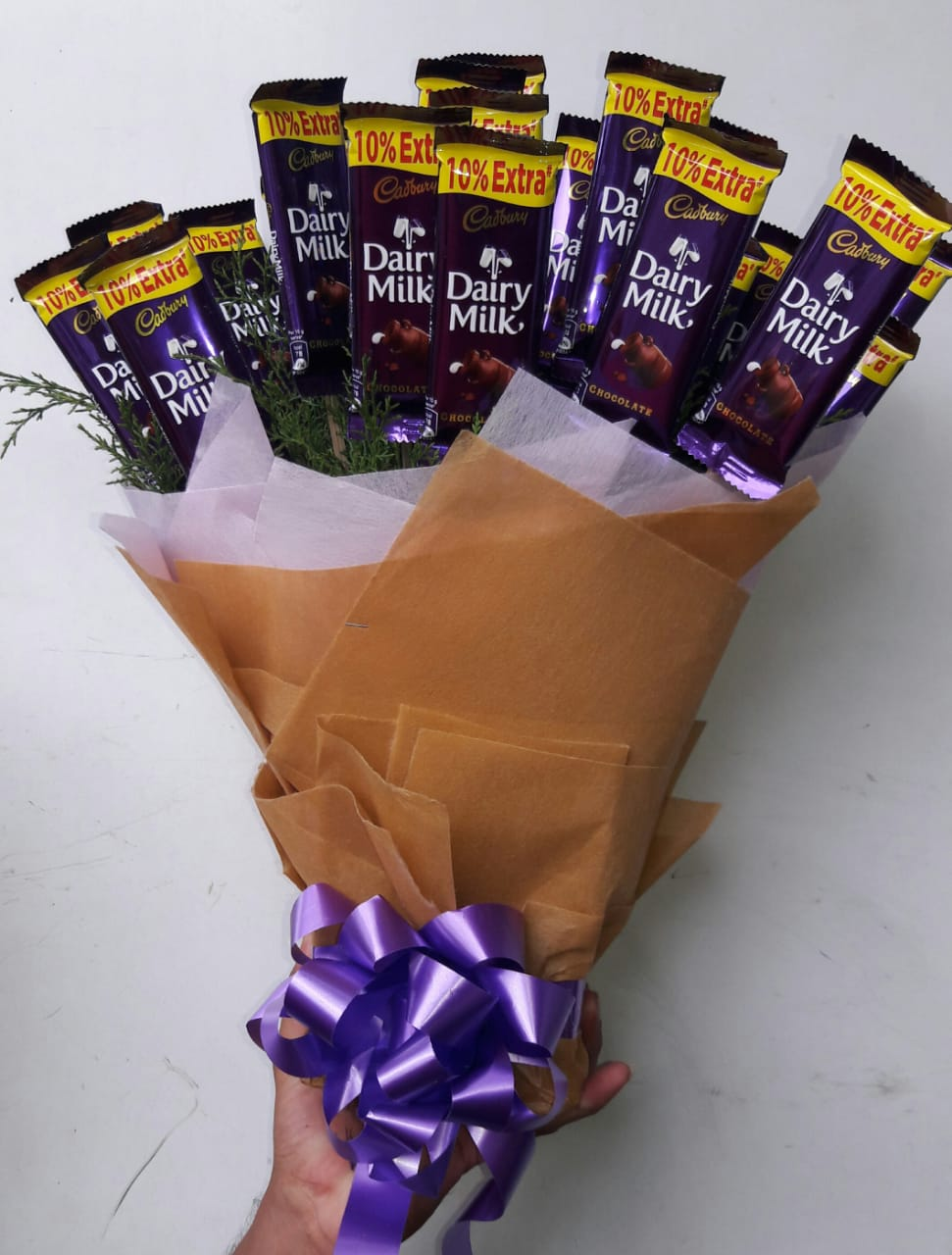 Cudbury Dairy Milk Chocolate Bouquet