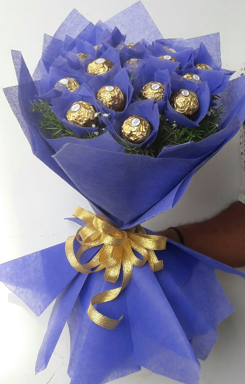 Bunch of Ferrero Rocher Chocolate