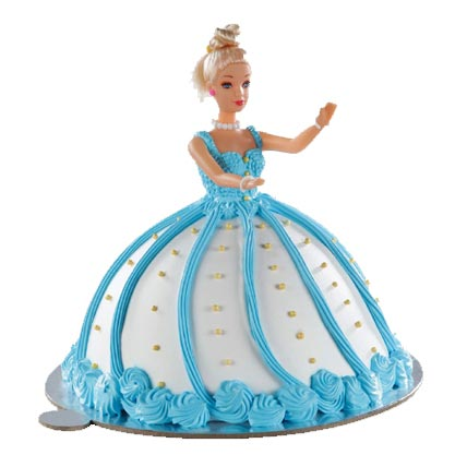 Adorable Barbie Doll Cake 2kg