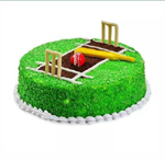 2kg Cricket Pitch Cake