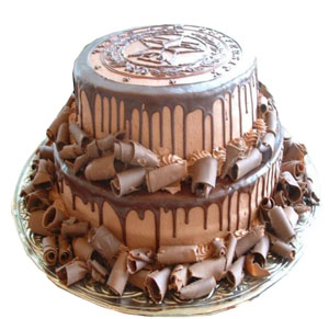 Flowers Delivery in Meerut2 tier Cake (3 KG)
