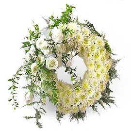 Mix Flowers Wreath