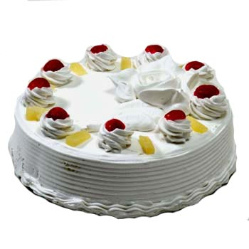 Flowers Delivery in ChandigarhRegular Pine apple cake
