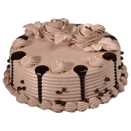 Flowers Delivery in CalcuttaPlain Chocolate Cake