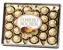 Mouth watering Ferrero Rocher 24 Pcs.