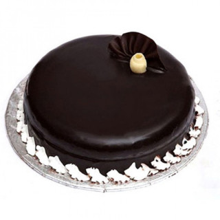 Flowers Delivery in JalandharDark Chocolate cake EGGLESS