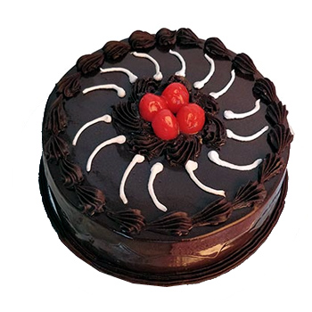 Flowers Delivery in GwaliorEggless Chocolate Truffle Cake